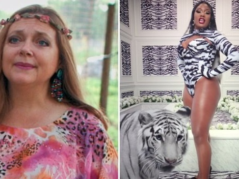 Tiger King's Carole Baskin Is Pissed About Cardi B & Megan Thee Stallion's 'WAP!' Video