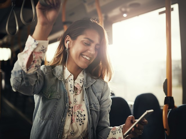 Using technology to help navigate public transport