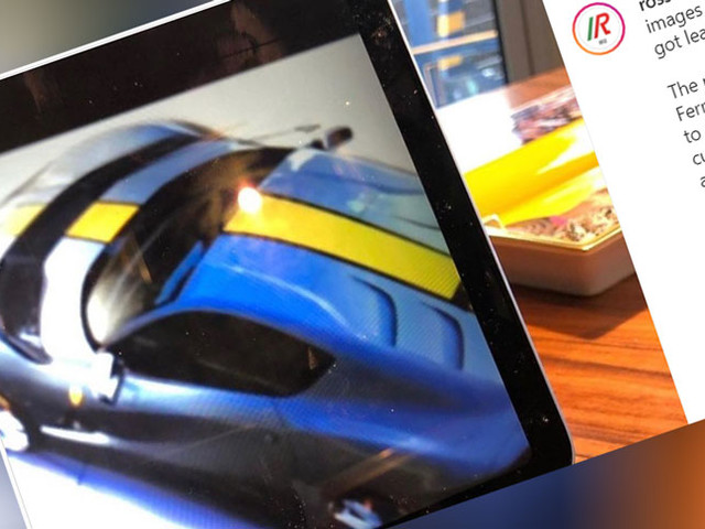 """Is This The Ferrari 812 """"Versione Speciale"""" And What Happened To Its Rear Window?"""
