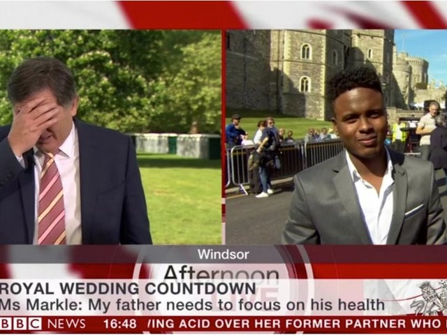 If Your Enthusiasm For the Royal Wedding Is Lacking, This BBC Reporter Gets You