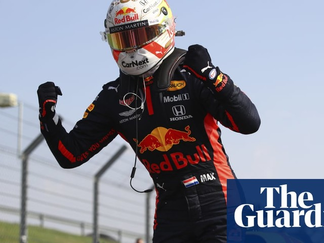 Max Verstappen roars to spectacular victory in 70th Anniversary Grand Prix