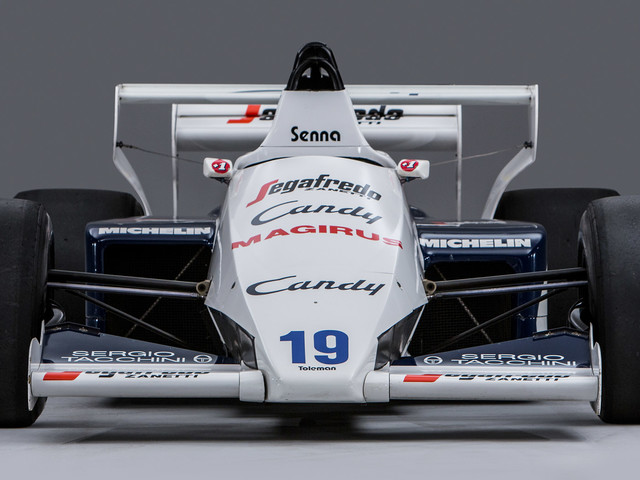 Senna's Toleman-Hart TG184 For Sale In Monaco 34 Years After Controversial Race