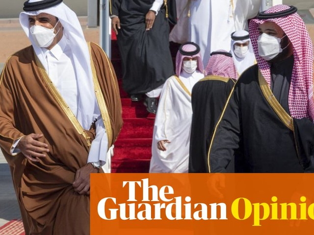 Saudi Arabia's blockade of Qatar is over – but my father is still in jail for opposing it | Abdullah Alaoudh and Abderrahmane Amor