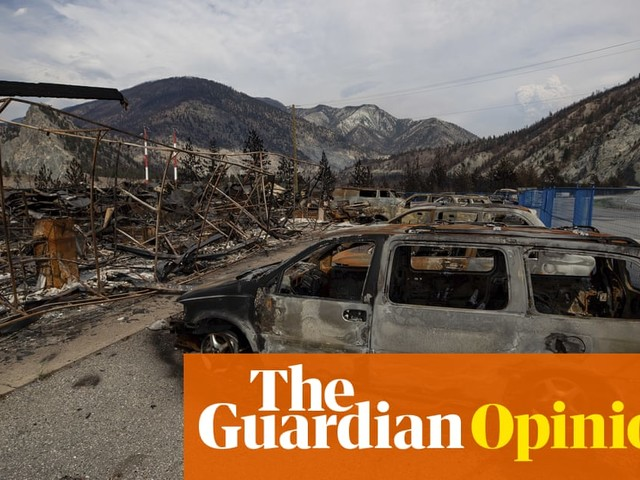 Here in British Columbia, we have spent the summer running from cruel wildfires | Mary Stockdale