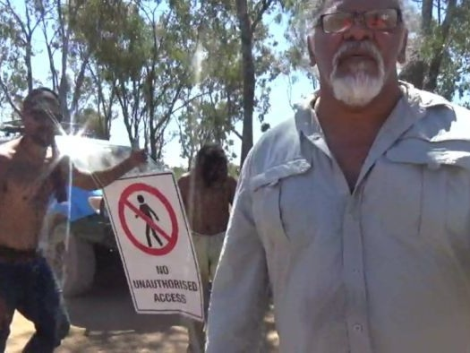 Body cameras capture altercation between security guards and traditional owners at Adani site