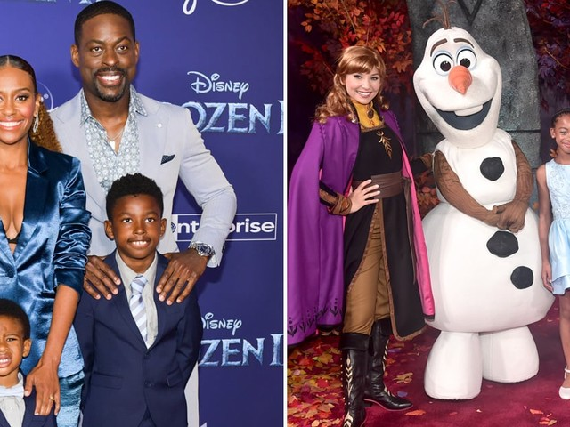 Sterling K. Brown Had the Support of His on and Offscreen Family at the Frozen 2 Premiere