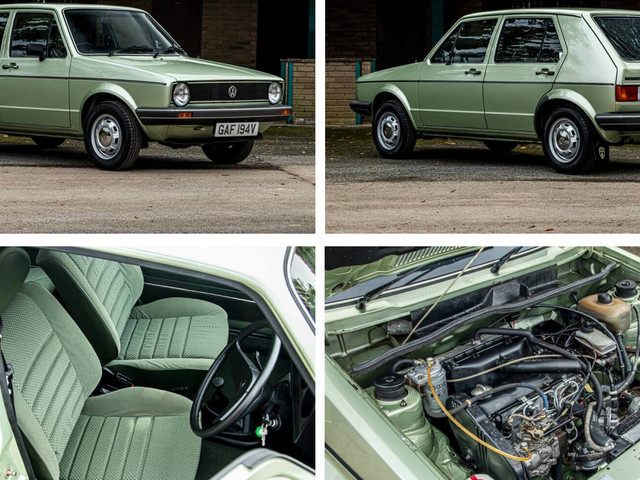 You Can Almost Smell The New Car Scent On This 738 Mile 1980 VW Golf Mk1