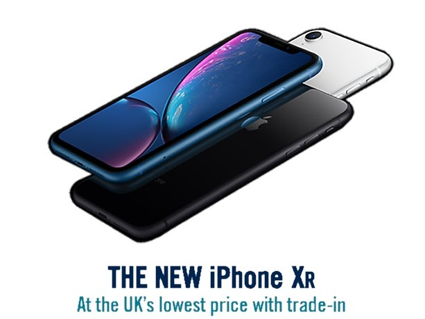 Get a £40 Currys voucher with iPhone XR pre-order deals from Carphone Warehouse