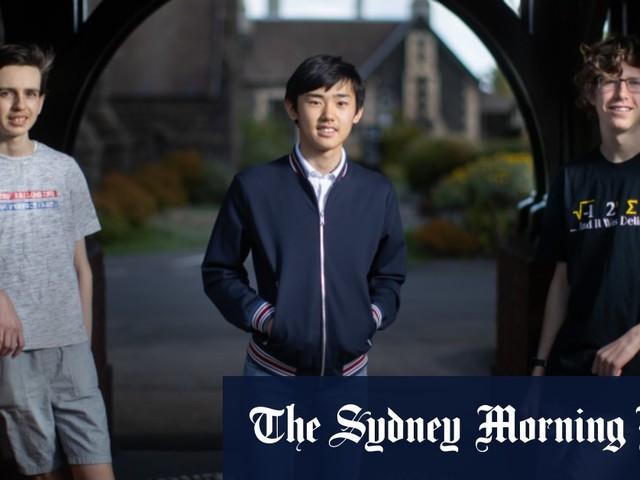 Meet the Melbourne kids helping Australia track the virus