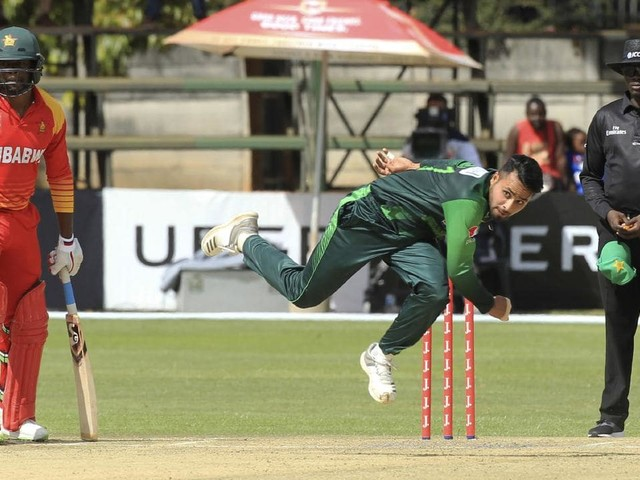 Zimbabwe crushed by Pakistan in ODI after 'disastrous' innings