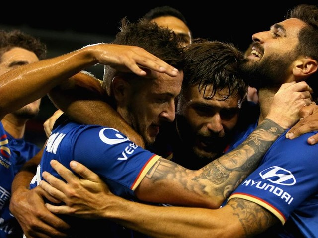 The Newcastle Jets beat Melbourne City 3-1