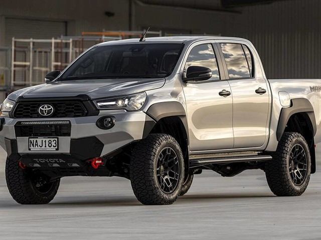 2021 Toyota HiLux Mako detailed! True Ford Ranger Raptor rival takes new Rugged X dual-cab ute to the next level