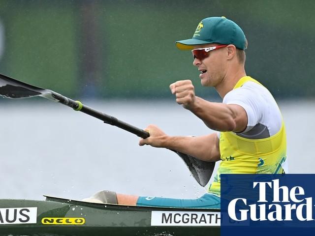 Curtis McGrath's tilt at double gold still on after defending kayak title