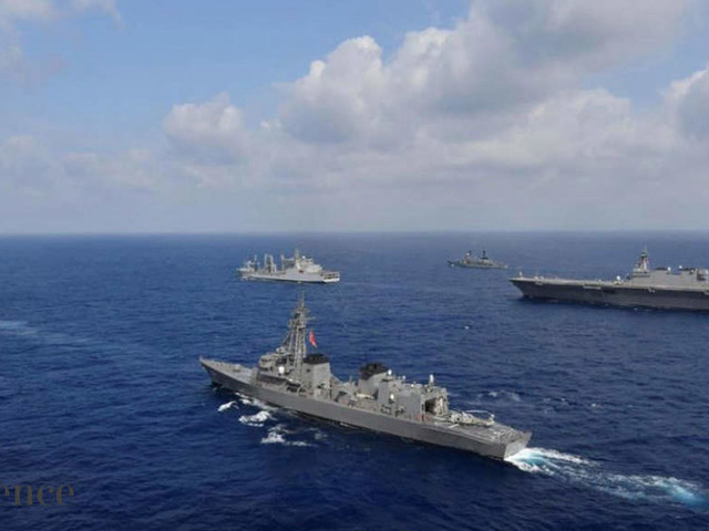 India, Singapore conduct naval drill in South China Sea