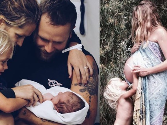 Actor Teresa Palmer and husband Mark Webber have a new baby boy
