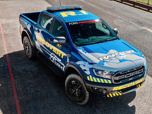 Ford Ranger Raptor 2019 announced as Supercars recovery vehicle