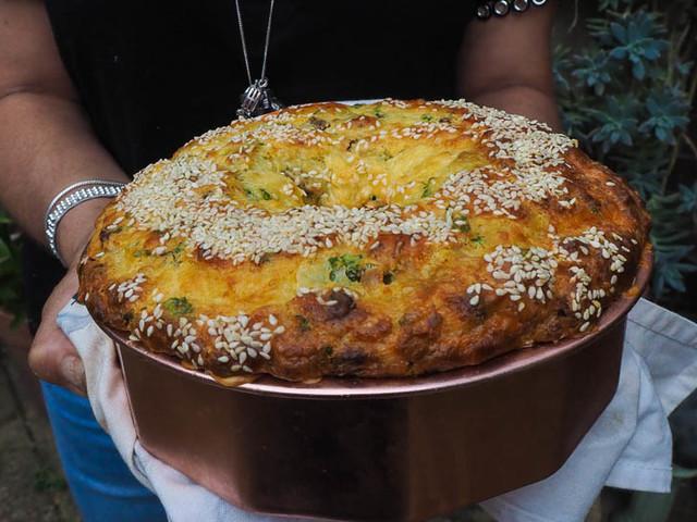 Cypriot Tiropita Halloumi & Mint Pie