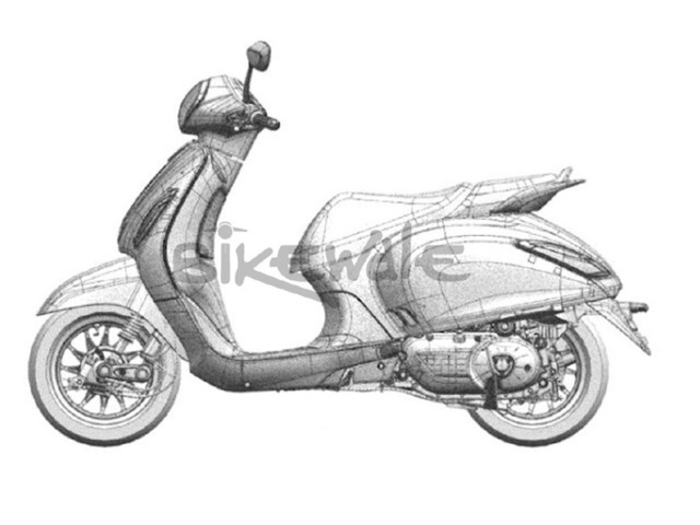 Upcoming Bajaj Scooter Sketches Revealed