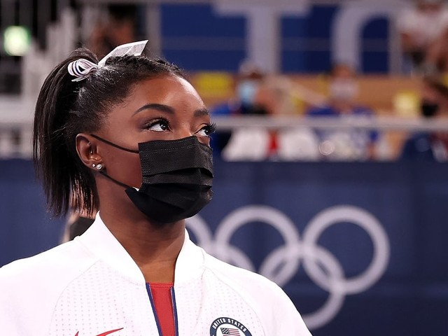 After Further Evaluation, Simone Biles Withdraws From Olympic Uneven Bars and Vault Finals