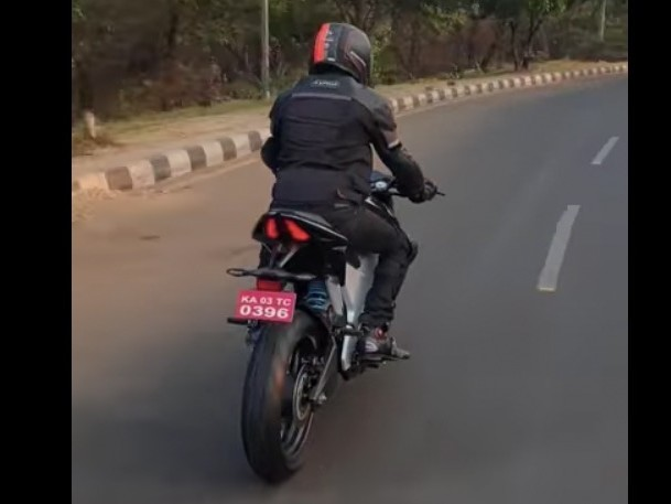 Ultraviolette F77 Electric Bike Spotted On Test [Video]