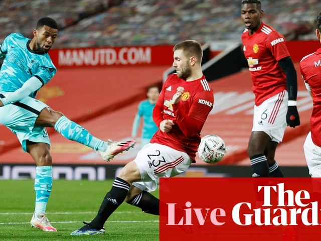 Manchester United v Liverpool: FA Cup fourth round – live!
