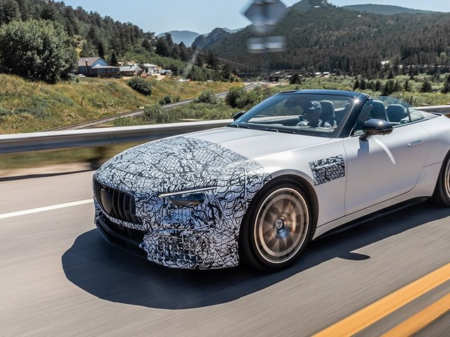 2022 Mercedes-AMG SL prototype first ride review: Back to its roots - Roadshow