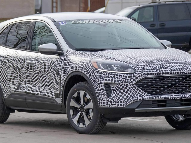 2020 Ford Escape To Have Three Engines, Including A Three-Cylinder