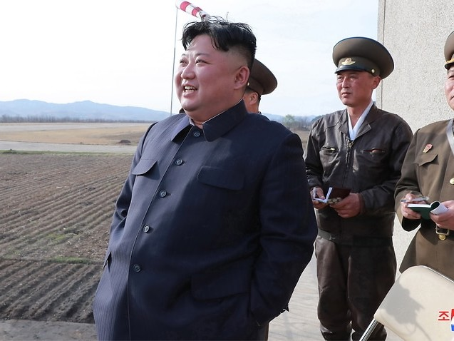 North Korea tests new weapon with 'powerful warhead'