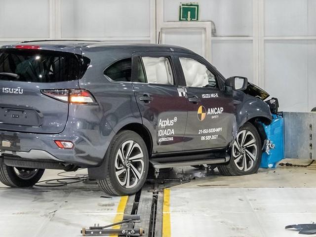 Smashed it! 2022 Isuzu MU-X and Toyota Yaris Cross get maximum ANCAP five-star safety rating