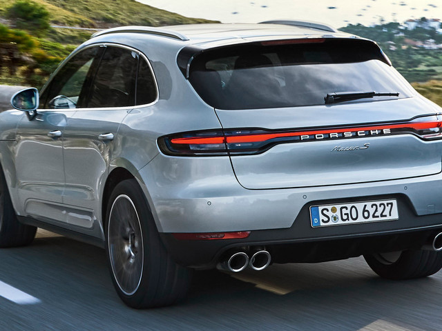 Porsche Launches 2019 Macan S With New 349HP V6 Engine