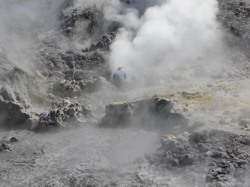 Cataclysmic supervolcano stirs to life