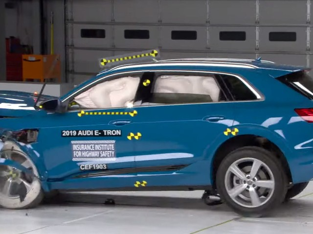 IIHS Awards 2019 Audi E-Tron With Highest Safety Rating