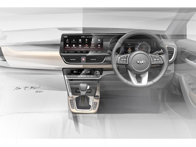 Kia SP2i Interior Revealed In Official Sketches