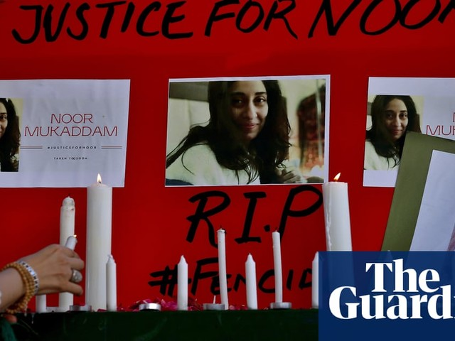 Pakistan reckons with its 'gender terrorism epidemic' after murder of Noor Mukadam