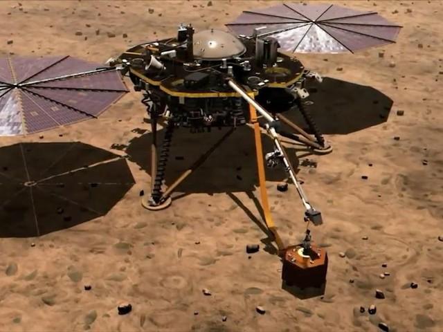 NASA Mars lander discovers deep quakes rock the Red Planet - CNET