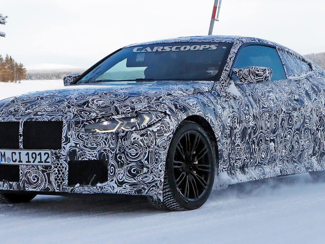 2021 BMW M4 Coupe Starts Looking Like A Proper Audi RS5, Mercedes-AMG C63 Fighter