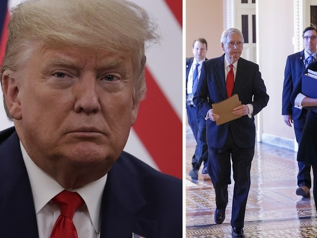 Historic day in Washington as Donald Trump impeachment trial begins in the Senate