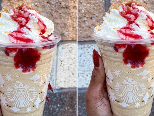 Starbucks's Raspberry Cheesecake Frappuccino Will Be My Valentine's Day Dessert of Choice