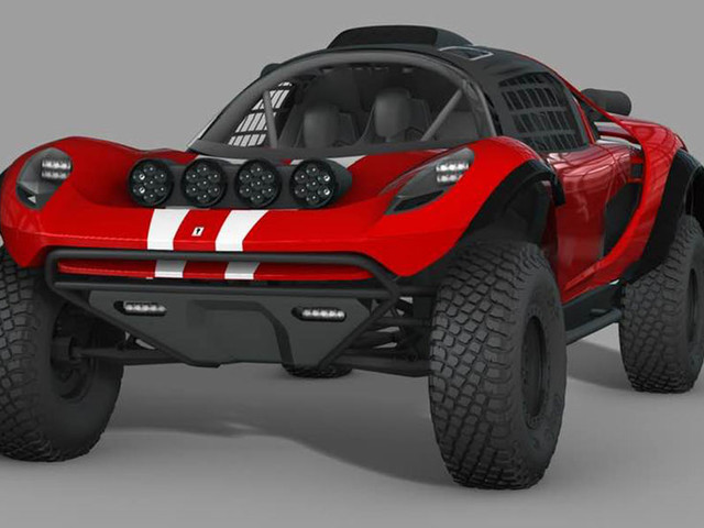 Scuderia Cameron Glickenhaus Shows Revised 008 Baja Dakar Buggy Renderings