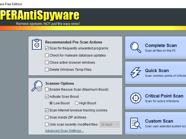 Download of the day: SUPERAntiSpyware