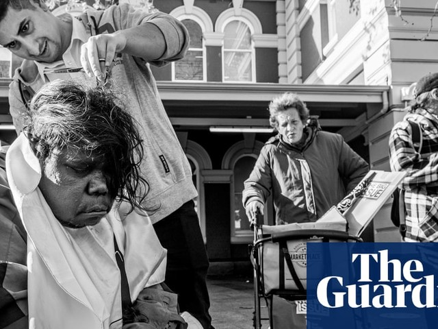 Meet Floki, the street barber of Perth: 'It's not just about the haircut'