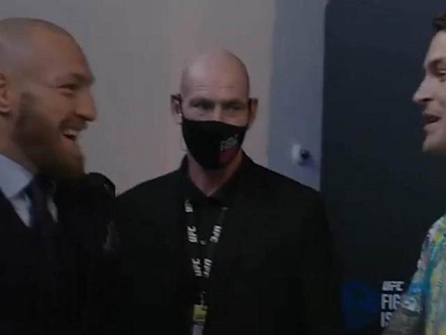 Conor's brilliant show of respect to Poirier in touching post-fight moment