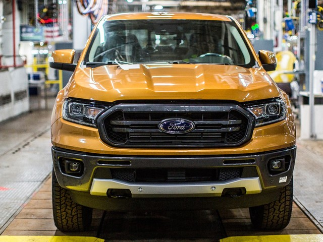 2019 Ford Ranger Goes Into Production In Michigan, Arrives At Dealers Early Next Year