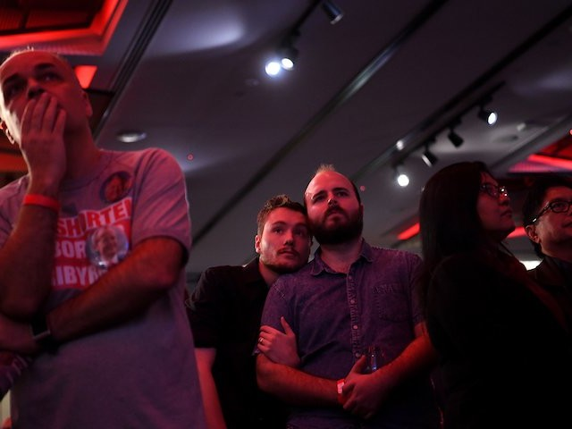 Tears and theories flow at Labor's election night party