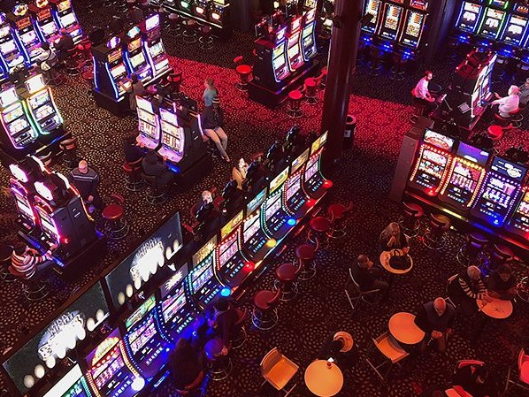 Vegas is closed, but Crown and Star keep pokies rolling. How immune is gambling to the crisis?