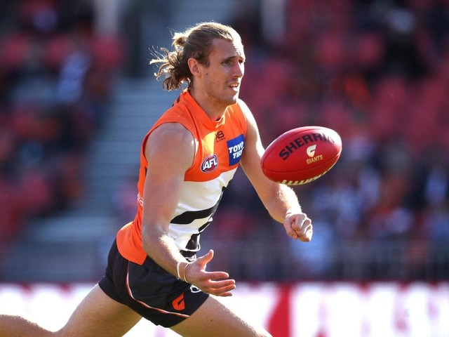AFL 2019: Giants sweat on scans to confirm extent of Nick Haynes' larynx injury