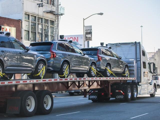 Uber ships self-driving cars to Arizona after San Francisco spat