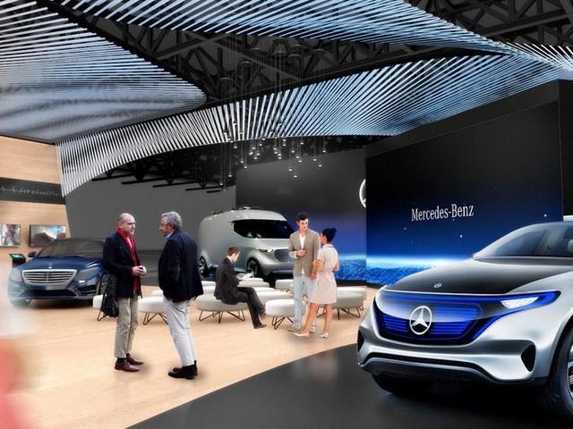 Mercedes Bringing Concept EQ & Vision Van To CES 2017