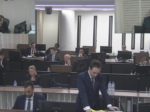 Phone call recording played at ICAC hearing