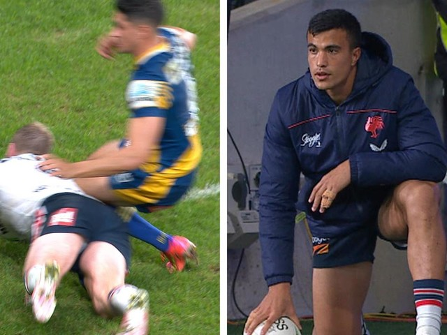 The 'really confusing' flaw in 18th man rule that robbed Suaalii of Roosters debut